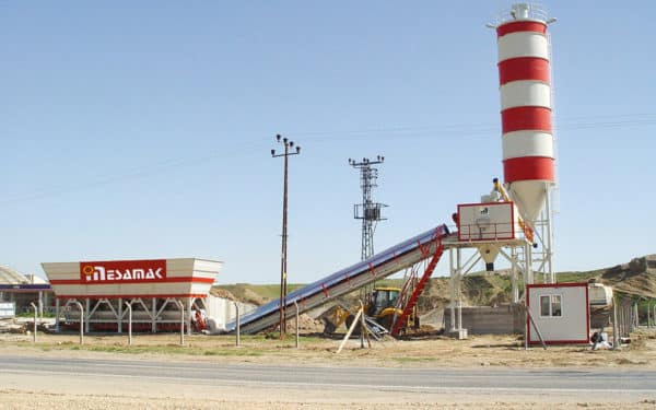 Dry System Concrete Batching Plants